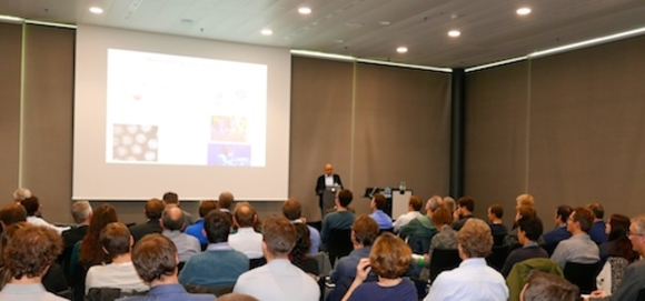 Daniel Müller, co-director of the NCCR Molecular Systems Engineering, hosted the Technology Apéro 2015.
