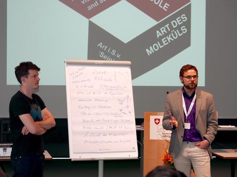 Art of Molecule Brainstorming. NCCR Fellow Retreat, Magglingen 2015.