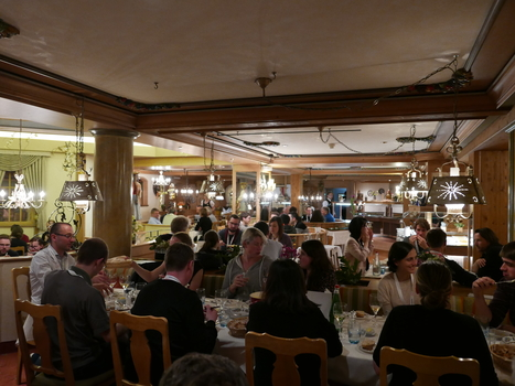 Fondue dinner 2017, Grindelwald.